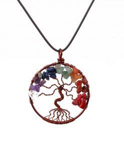 مدال درخت زندگی هفت چاکرا