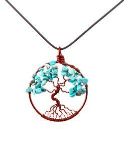 مدال درخت زندگی فیروزه