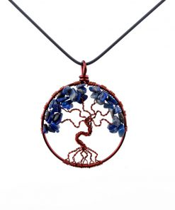 مدال درخت زندگی لاجورد