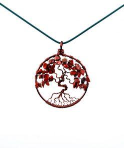 مدال درخت زندگی جاسپر قرمز