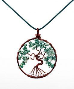 مدال درخت زندگی گارنت
